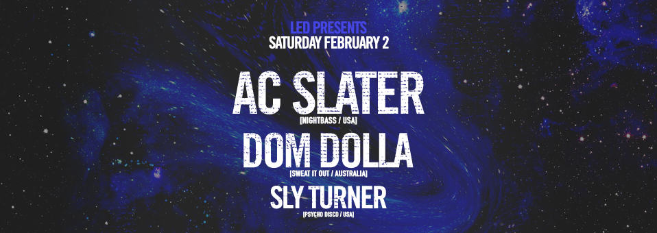 AC Slater at Spin Nightclub – February 2nd, 2019