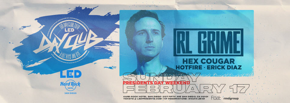 RL Grime at Hard rock Hotel Rooftop – February 17, 2019